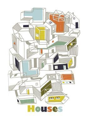 A Collection of Houses by Laure Girardin-Vissian