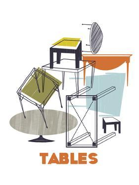 A Collection of Tables by Laure Girardin-Vissian