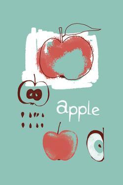 Apple Study by Laure Girardin-Vissian