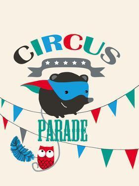 Circus Parade II by Laure Girardin-Vissian
