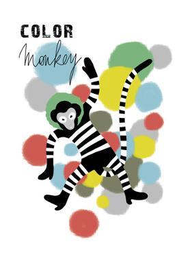 Color Monkey by Laure Girardin-Vissian