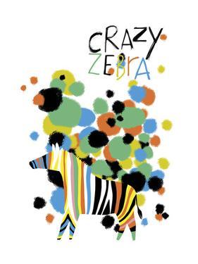 Crazy Zebra by Laure Girardin-Vissian