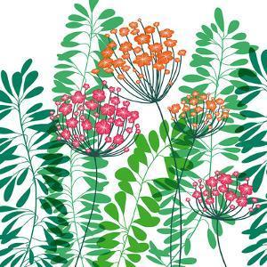 Flower Applique IV by Laure Girardin-Vissian