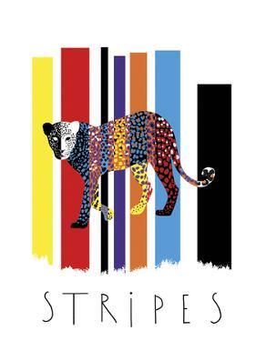 Leopard Stripes by Laure Girardin-Vissian