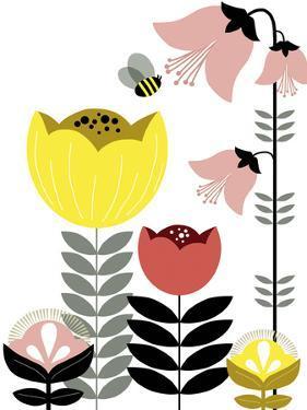 Nordic Flowers II by Laure Girardin-Vissian