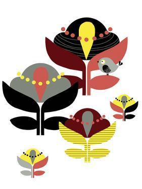 Nordic Flowers III by Laure Girardin-Vissian