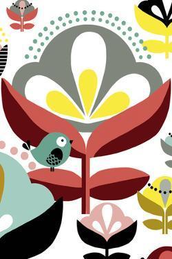 Nordic Flowers IV by Laure Girardin Vissian