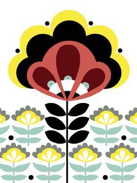 Nordic Flowers V by Laure Girardin-Vissian