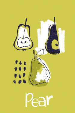 Pear Study by Laure Girardin-Vissian