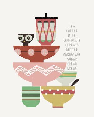 Teatime I by Laure Girardin-Vissian