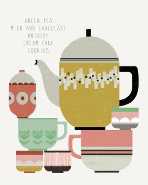 Teatime II by Laure Girardin-Vissian