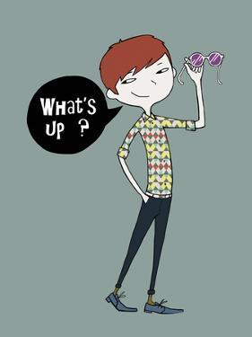 What's up? by Laure Girardin-Vissian