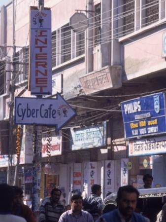 Internet Cafe, India by Lauree Feldman