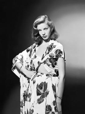 Lauren Bacall, c. 1945 (b/w photo)