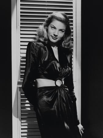 """Lauren Bacall """"To Have And Have Not"""" 1944 Directed by Howard Hawks"""