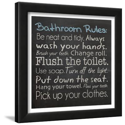 Bathroom Rules by Lauren Gibbons