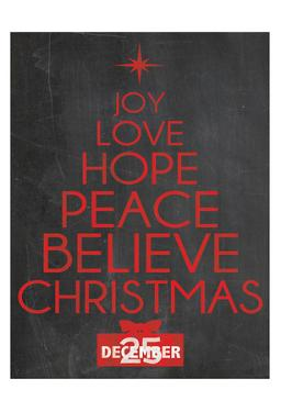 Christmas Type by Lauren Gibbons