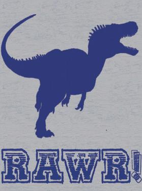 Dino Rawr by Lauren Gibbons