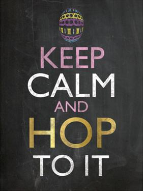 Easter Chalk Hop To It by Lauren Gibbons