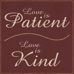 Love is Patient by Lauren Gibbons
