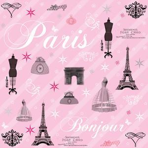 Paris Collage by Lauren Gibbons
