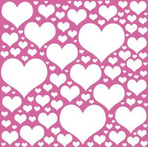 Pink Heart Storm by Lauren Gibbons