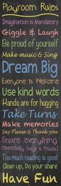 Playroom Rules Chalk by Lauren Gibbons
