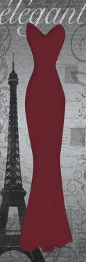 Red Dress Eiffle by Lauren Gibbons
