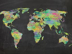 The World On Chalk by Lauren Gibbons