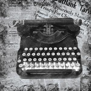 Vintage Typewriter by Lauren Gibbons