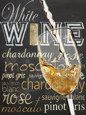Wine Glass White by Lauren Gibbons