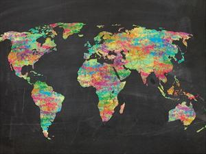 World Chalk Kids by Lauren Gibbons