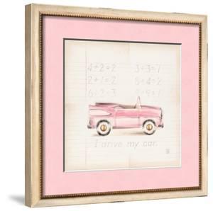 Pink Car by Lauren Hamilton