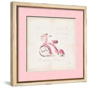 Pink Tricycle by Lauren Hamilton