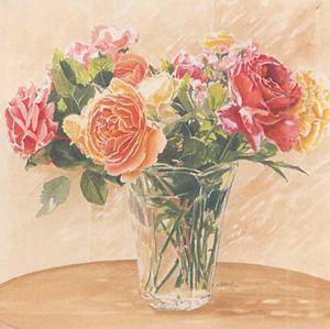 Autour d'Un Bouquet II by Laurence David