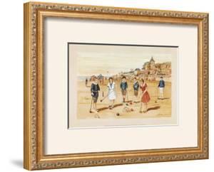 Une Partie de Croquet by Laurence David