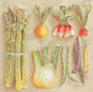Vegetables I, Asparagus by Laurence David