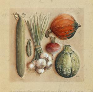 Vegetables II, Cucumbers by Laurence David