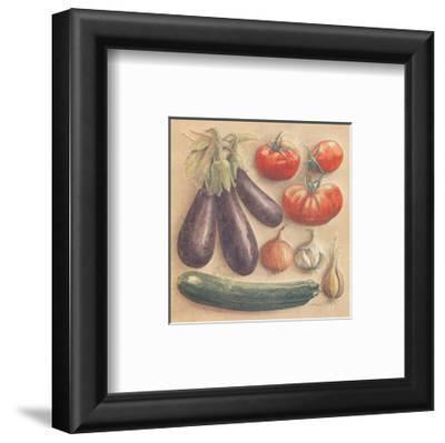 Vegetables III, Eggplants by Laurence David