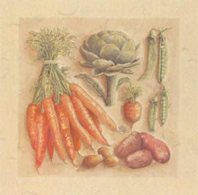 Vegetables IV, Carrots by Laurence David