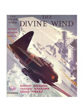 Book Cover for 'The Divine Wind', 1950s by Laurence Fish