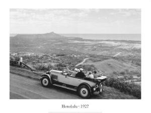 Honolulu, 1927 by Laurence Hata