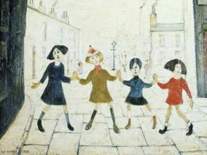 Children Playing by Laurence Stephen Lowry