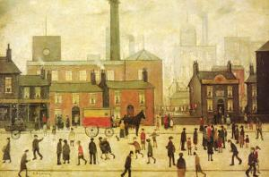 Coming Home from the Mill by Laurence Stephen Lowry