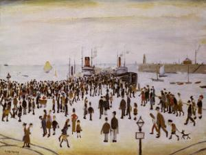 Ferry Boats by Laurence Stephen Lowry