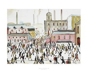 Going To Work, 1959 by Laurence Stephen Lowry