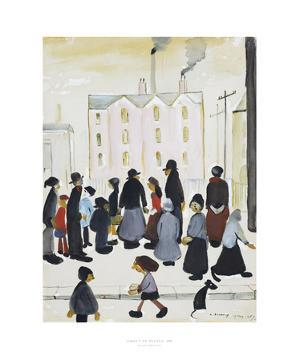 Group Of People, 1959 by Laurence Stephen Lowry