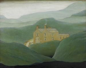 House On The Moor, 1950 by Laurence Stephen Lowry