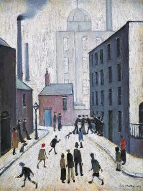 Industrial Scene, 1953 by Laurence Stephen Lowry