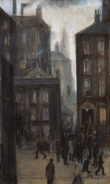 Lodging House, 1921 by Laurence Stephen Lowry